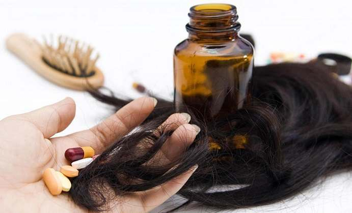 Essential vitamins treat hair loss
